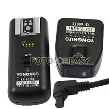 RF602 Wireless Remote Flash Trigger for Canon EOS 1D 7D 6D 5D Mark II III 5Ds R
