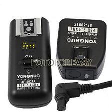 RF602 Wireless Remote Flash Trigger per Canon EOS 1D 7D 6D 5D Mark II 5 DS R III