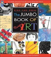 The Jumbo Book of Art (Kids Can Press Jumbo Books)-ExLibrary