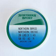 Northern Sport Quality 20lb Braid Fishing Fly Line Backing 50yds