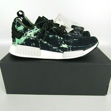 """Adidas NMD_R1 Primeknit """"Green Marble"""" Shoes Men's size 12 BB7996"""