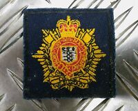 Genuine British Army Royal Logistic Corps (RLC) Sewn on patch - NEW