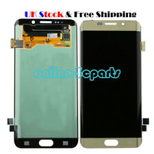 UK For Samsung Galaxy S6 Edge G925F LCD Display Touch Screen Digitizer GOLD