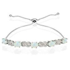Armbänder mit Edelsteinen echten Diamant aus Sterlingsilber für Damen
