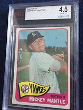 1965 Topps Mickey Mantle #350 BGS 4.5 VG-EX+