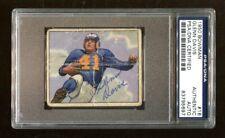 Glenn Davis Signed 1950 Bowman #16 Autographed Rams PSA/DNA *5697