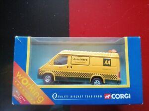 Corgi AA Van