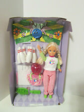 Vintage 1998 Barbie Bowling Party Stacie Doll New without Box Stacy Accessories