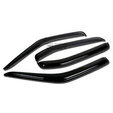 Fit 00-04 Nissan Xterra Smoke Tint Window Visor/Wind Deflector Vent Rain Guard