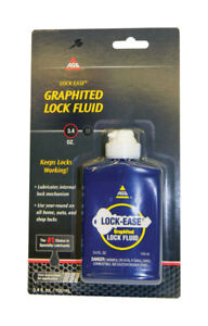AGS Lock-Ease General Purpose Graphite Lock Fluid 3.4oz all types of locks LEK-4