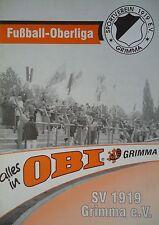 Programm 1998/99 SV 1919 Grimma - VfL Halle 96