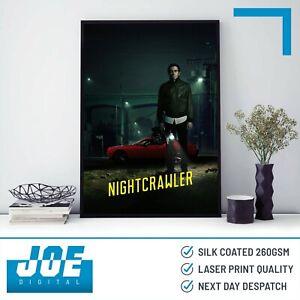 2014 NIGHTCRAWLER - Movie Film Poster Print A3 A4 A5 - Home Decor/Wall Art