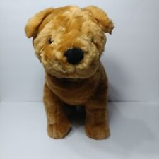Kellytoy sharpei dog plush stuffed animal large size realistic puppy