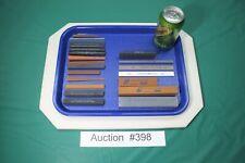 (22) Machinist Oil Stone India Crystolon Norton Bear Oilstone Gunsmith NOS #398