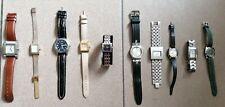 Lot de 10 montres mécaniques et quartz. Notamment Guess, Swatch, Kelton