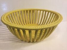 Primo'Gl Bassano Italy Twisted Side Basket Fruit Bowl - MINT