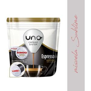 OFFERTA JB 96 CIALDE CAPSULE CAFFE' KIMBO UNO SYSTEM MISCELA SUBLIME ORIGINALI