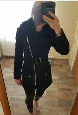 Karen Millen black coat size 8