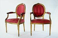 Poltrona Luigi XVI antichità sedia divano luxury furniture interior design antiq