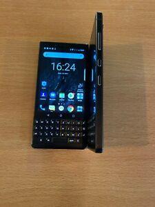BlackBerry Key2 BBF100-6 - 128GB - Black (Unlocked) Qwertz Pad
