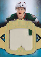 13-14 UD Ultimate Charlie Coyle /100 Patch Debut Threads Wild 2013