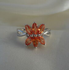 1.31ct Certified Padparadscha Sapphire Ring