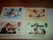 British Council 25 September 1984 PHQ 79 set Royal Mail Stamp Card Series