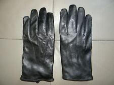 Leder handschuhe,schwarz gr.L