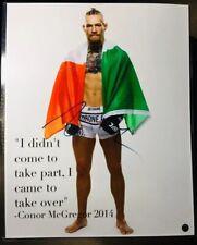 """CONOR MCGREGOR"" (16X20) AUTO/SIGNED! RARE PHOTO! (UFC!) ""THE NOTORIOUS""!!!!"
