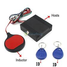 Smart Key RFID Car Alarm System Sensor Motorcycle Theftproof Device Engine Car