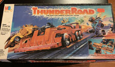 Vintage 1986 THUNDER ROAD Board Game - Milton Bradley - COMPLETE