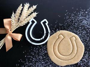 Horse Shoe Cookie Cutter | Fondant Cake Decorating | UK Seller