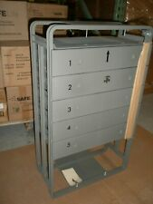 MILITARY MEDICAL SUPPLY CABINET 5 DRAWER INSERT LOCKABLE 18 W X 30 H X 10 D