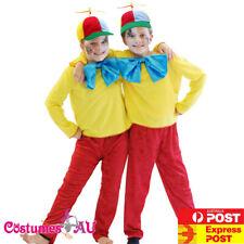 Child Tweedle Dee Tweedle Dum Costume Alice In Wonderland Kids Book Week Disney