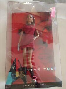 Star Trek Lt Uhura Barbie Pink Label Collector Doll 2009