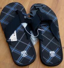 Route 66 Jryan 2 Black Flip Flop Sandals - NEW - MEN'S SIZE 10 - BRAND NEW W TAG