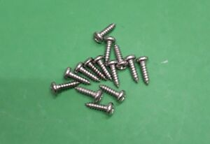 14x Land Rover Defender Rear Door Retainer Protector STAINLESS Screws AB606056