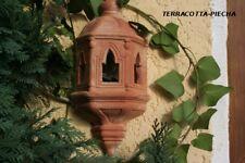 terracotta Wandlampe terrakotta Leuchte ohne Lampenfassung 37 x18 cm br.