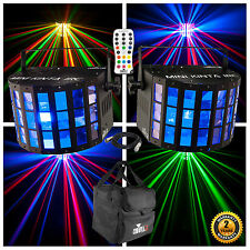 Chauvet Mini Kinta IRC RGBW LED Derby Lighting Package Inc Carry Bag & Remote