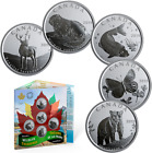 2019 Canada's Wildlife Treasures Five 50-cent Coins Gift Set