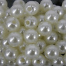 Wedding Sewing QUALITY Acrylic FAUX PEARLS  IVORY Pearl Beads 3 4 5 6 8 10mm
