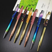 Hot Colorful Glitter Crystal Ball-Point Pen Marker Pen Student Office Stationery