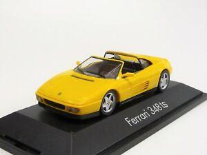 Ferrari 348 ts gelb  Herpa 01024 Neu in OVP 1/43