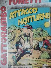 Attacco Notturno N.20 Zenit gigante raro prima Serie Anastatica-Blisterato