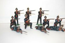 10 VINTAGE BRITAINS LEAD PRUSSIAN SOLDIERS