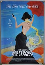 FESTIVAL IN CANNES ROLLED ORIG 1SH MOVIE POSTER ANOUK AIMEE GRETA SCACCHI (2002)