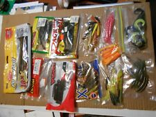 Lot of Fishing Soft Plastics - Yum, Berkley, Zoom, Rage, and other