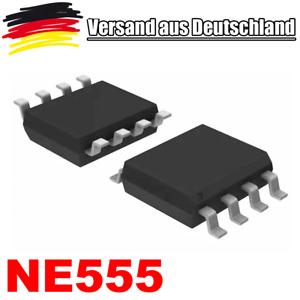 2 Stück SMD IC NE555 NE 555 93M DNWY Timer Zeitgeber TTL kompatibel L-0080