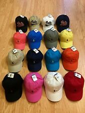 878d0273 POLO RALPH LAUREN BASEBALL CAP HATS PONY LOGO ONE SIZE ADJUSTABLE NWT