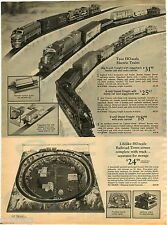 1970 PAPER AD 3 Pg Train Lionel Tyco HO Scale Diesel Auto Transport 027 Gauge